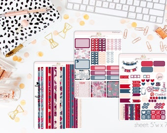Boss Babe HORIZONTAL Weekly Kit // 130+ Matte Planner Stickers // Perfect for your Erin Condren Life Planner // WKH0540