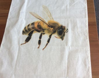 Busy bee Teatowel