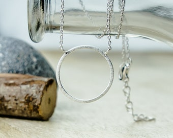 Necklace Circle 925 Silver