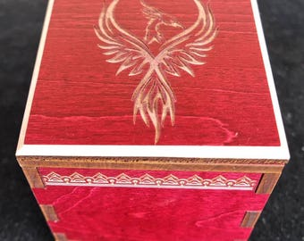 Firebird Secret Stash Puzzle Box – limited edition box