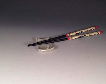 Jade celadon chopstick holder