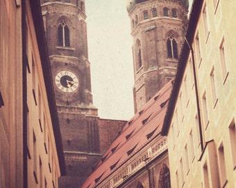 Munich - Germany photograph, fine art, travel photography, Europe, vintage, German photo, wall decor