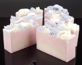 5.0 oz Handmade Goat's Milk Soap Lavender Vanilla Scent