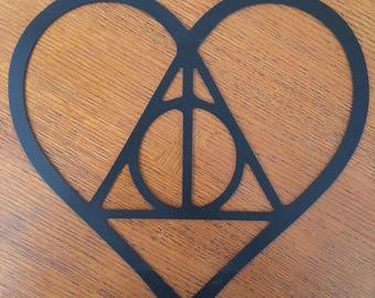 Always in a Heart ( Harry Potter) Symbol (Steel)