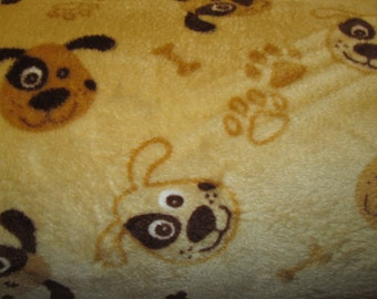fleece dog fabric