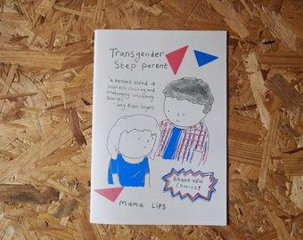 Transgenres beau Parent - une bande dessinée par Mama lèvres