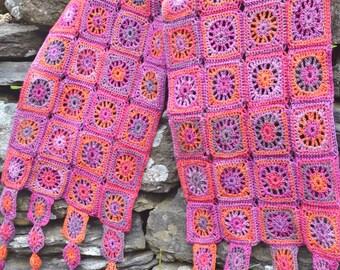 Ariana Crochet Scarf PDF Pattern