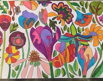 Handmade Card - Fairy Land