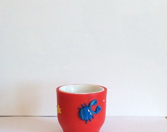 Eggcup crab