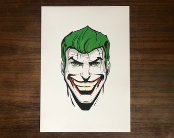 The Jokers A3 Art Print