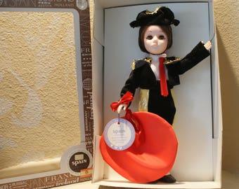 Vintage Effanbee Collectible Spain Toreador Doll