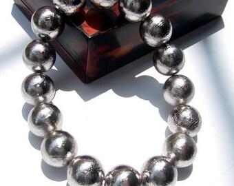 AAA Grade Genuine Meteorites Bracelets 12MM, Natural Round Meteorite Beads, Genuine Meteorite Jewelry Gemstone Men