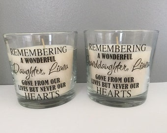 Remembrance / Memorial Candles