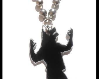 """Plastic collar Wolf crazy """"Wolf garouououuuuuuuuuuuuuuuuuuu"""""""