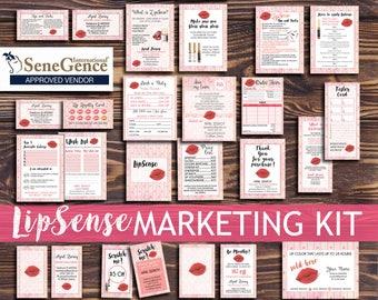 LipSense Marketing Kit, LipSense tip and trick, LipSense instruction, LipSense bundle,sense business pack, LipSense business card, Senegence