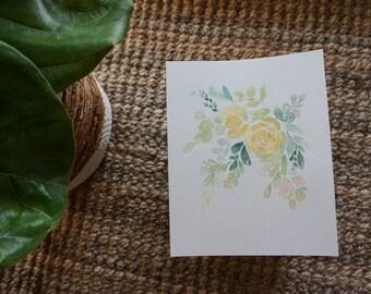 Custom Sunny Floral