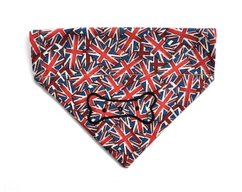Union Jack Flag GB Dog Neckerchief