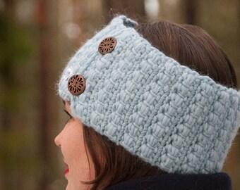 CROCHET PATTERN - Headband Crochet Pattern - PDF Crochet Pattern