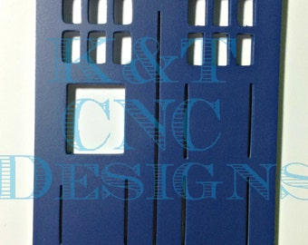 Dr Who Tardis Wall Hanging Whovian Doctor
