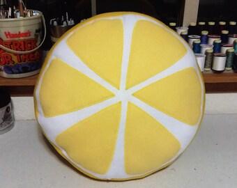 Handmade Fruit Slice Pillows