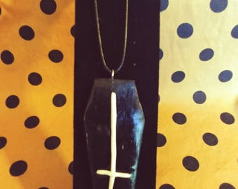Satanic Coffin Necklace