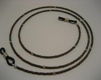 Earthtone Eye Glass Holder,Eyeglass Holder,Eye Glass Holders,Glasses Holder,Eyewear Holder,Jewelry for Glasses,Holders for Glasses,Crystal