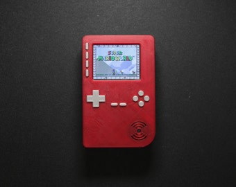 PiGRRL 2 - Raspberry Pi Game Console 3D Printed (Case and Buttons Only)