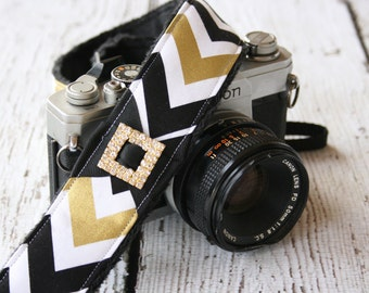 Camera Strap. dSLR Camera Strap. Chevron Camera Strap.  Camera Neck Strap. Cute Camera Strap. Custom Camera Strap.