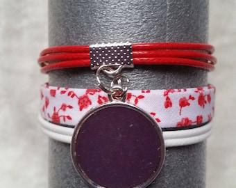 bracelet fantaisie multi rangs à graver