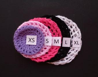 X-Large Bun Cover, Many Colors, Crochet Bun Cover, Bun Wrap, Bun Holder, Ballet, Dance, Flamenco, Gymnastics