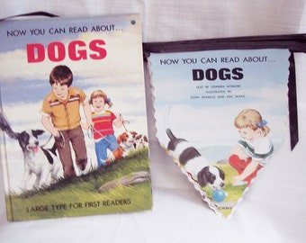 Dogs A Cute Banner - Garland  Unique Hand Crafted  Great for a Party, room decoration, classroom, etc.
