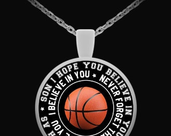 Son - Necklace (Basketball)