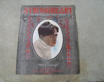 1906 sheet music (  strongheart  )