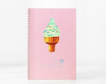 Ice Cream Summer Spiral | Pink