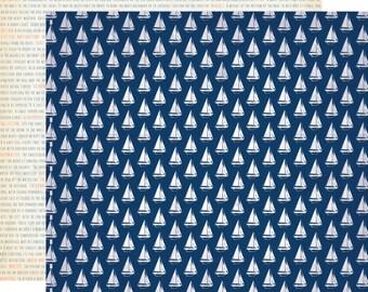 12x12 Carta Bella Sail Away Cardstock