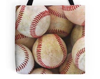 Baseball Tote, Bag, Baseball Season, Carry-On, Shoulder Bag, Mom, Baseball Gifts, Sports, Photography