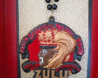 Zulu Medallion Shadowbox