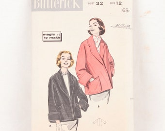 1950s Butterick 8467 // topper