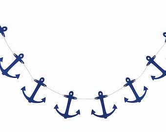 Anchors Garland | Anchor Banner | Anchor Decor | Nautical Garland | Nautical Banner | Nautical Decor | Birthday | Photo Prop | Shower