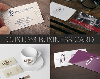 Custom Business Card, Calling Card, Business Cards, Contact Card, Graphic Design, OOAK Business Card, Modern Business Card, Printable Card