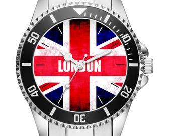London Gift Item Idea Fan Watch 6184
