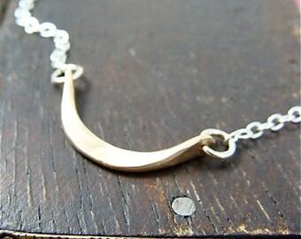 minimalist ... 14k gold filled pendant