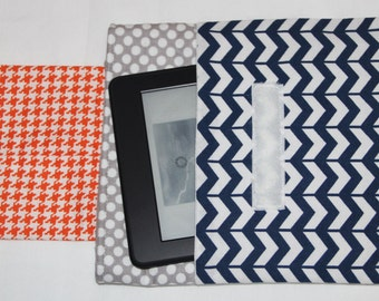 """Instant Download PDF Sewing Pattern: Very Easy Padded Case for eReaders. Devices from 6 3/4"""" by 3 1/4"""" up to 8 1/2"""" by 6"""" Make it today"""