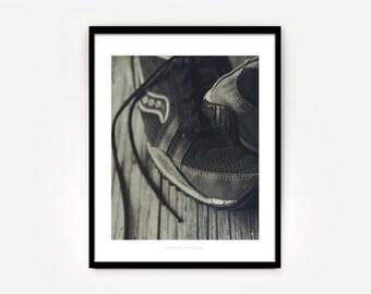 Worn Sneakers No. 2  { 8x10 Fitness Art Print}