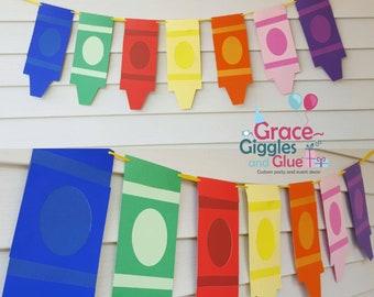 Crayon Banner