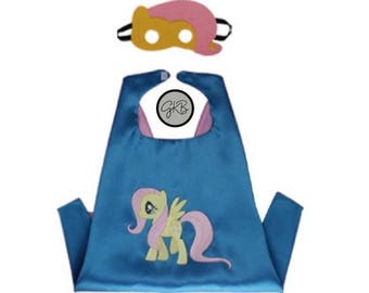 Fluttershy Cape & Mask Set