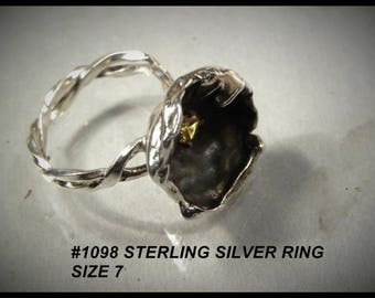 Ring size 7 Really different # 1098