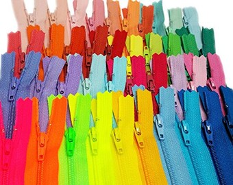 40-YKK zippers~ Great for purses,Handbags and Craft Projects~Color Requests accepted!~ZipperStop Wholesale Distributor YKK®~ Pick Ür Length