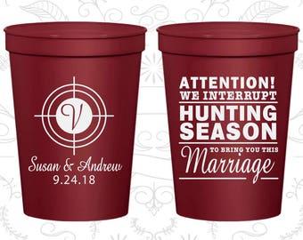 Maroon Stadium Cups, Maroon Cups, Maroon Party Cups, Maroon Wedding Cups (317)