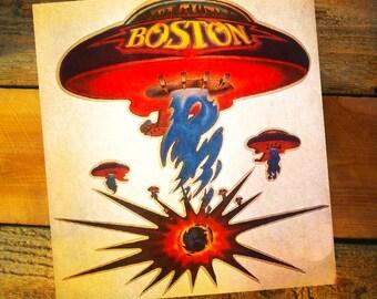 Vintage Original 1976 Boston Rock Band More Than A Feeling Iron-On T-Shirt Transfer LAST ONE